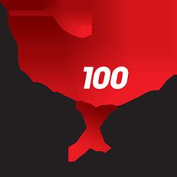Logo 100 Extra Force