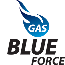 Logo Gas Blue Force